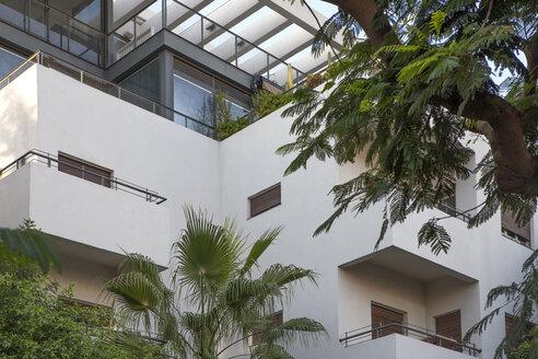 Israel, Tel Aviv, White City, Rothschild Boulevard, Bauhaus style - PSTF00288
