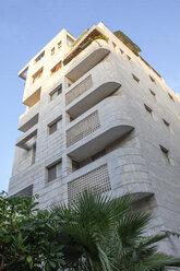 Israel, Tel Aviv, White City, Rothschild Boulevard, Bauhaus style, Acum Haus - PSTF00291