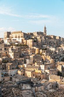 Italy, Basilicata, Matera, Townscape and historical cave dwelling, Sassi di Matera - WPEF01176