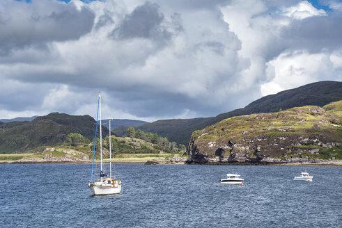 United Kingdom, Scotland, Sutherland, Caithness, Loch Kanaird - ELF01967