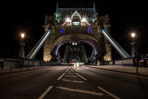 An illuminated bridge at night - INGF09318