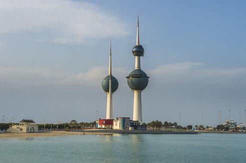 Arabia, Kuwait, Kuwait City, Kuwait Towers - RUNF00353