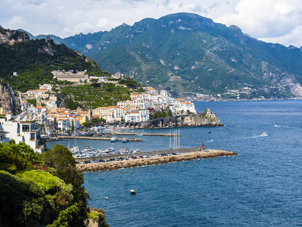 Italy, Campania, Amalfi Coast, Sorrento Peninsula, Amalfi - AMF06364