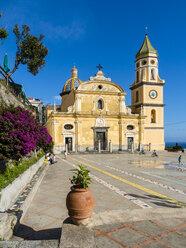 Italy, Campania, Amalfi Coast, Sorrento Peninsula, Praiano, Parrocchia Di San Gennaro Church - AM06379
