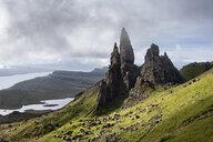 UK, Scotland, Inner Hebrides, Isle of Skye, Trotternish, Old Man of Storr - ELF01979
