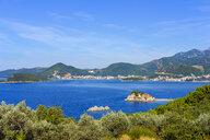Montenegro, Adriatic Coast, Becici, Hotel Island, Sveti Stefan and Budva - SIEF08206