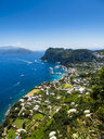Italy, Campania, Gulf of Naples, View to Capri - AMF06418