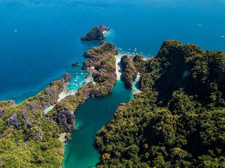 Big Lagoon and Small Lagoon, El Nido, Palawan, Philippines - DAWF00748