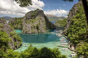 Philippines, Palawan, Coron Island, Kayangan Lake - DAWF00763