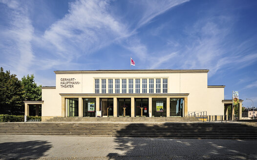 Germany, Saxony, Zittau, Gerhart Hauptmann Theatre - BT00498
