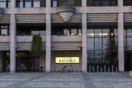 Austria, Linz, facade and entrance of New City Hall - JUNF01638