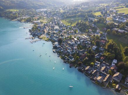 Austria, Upper Austria, Weyregg , Lake Attersee - JUNF01644