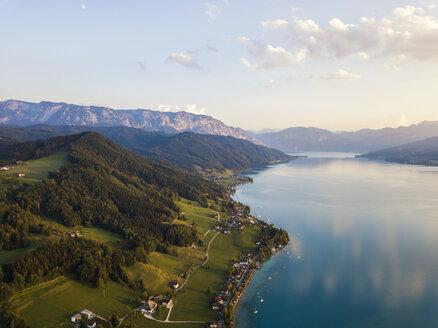 Austria, Upper Austria, Weyregg , Lake Attersee - JUNF01647