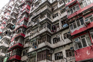 Hong Kong, Quarry Bay, apartment block - DAWF00802