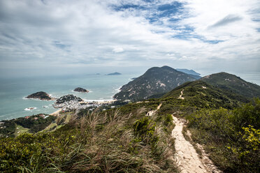 Hong Kong, Shek O Peak, coast and sea - DAWF00808