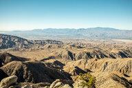 USA, California, Los Angeles, Joshua Tree National Park, rolling landscape - DAWF00857