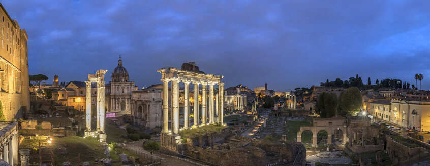 Italy, Rome, Forum Romanum, Temple of Saturn, Santi Luca e Martina, Santa Francesca Romana - HAMF00548