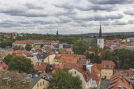 Germany, Weimar, view from St. James Church to cityscape - KEBF01029