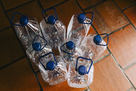 Water bottles with handles ready for recycling - FSIF03505