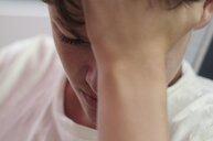 Close-up shot of a young man - INGF10478