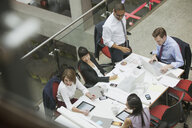 Business people meeting at conference table - HEROF01880