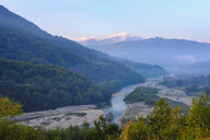 Montenegro, Andrijevica, Lim Valley in the morning light - SIEF08251