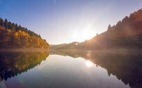 Scenic view of a reflective lake during autumn - INGF11412