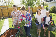 Multi-generation family gardening - HEROF02714