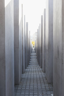 Germany, Berlin, view of Holocaust Memorial - GW05719