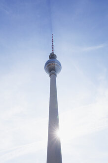 Germany, Berlin, television tower at backlight - GWF05722