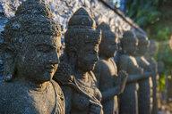 Indonesia Bali, Stone statues in the Pura Besakih temple complex - RUNF00572
