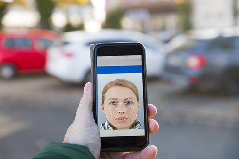 Smartphone with facial recognition - KLRF00784