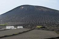 Spain, Canary Islands, Lanzarote, La Geria, view to wine-growing district - RUNF00595