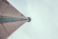 Low angle architectural view of a tall building in Toronto - INGF11708