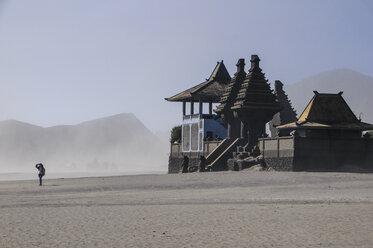 Indonesia, Java, Bromo Tengger Semeru National Park, Hindu temple complex in the Mount Bromo crater - RUNF00698