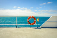 A quiet ferry overlooking the sea - INGF12025