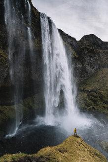 Iceland, Seljalandsfoss Waterfall - DAMF00028