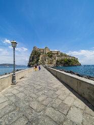 Italy, Campania, Naples, Gulf of Naples, Ischia Island, Aragonese Castle on rock island - AM06597