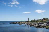 Denmark, Bornholm, rocky bay in Allinge-Sandvig Sogn - RUNF00707