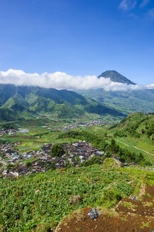 Indonesia, Java, Overlook over the Dieng Plateau - RUNF00764
