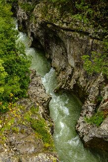 Slovenia, Lepena Rock canyon, Soca river - LBF02317
