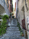 Italy, Lombardy, Varenna, empty alley - AMF06616