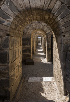 Turkey, Bergama, Acropolis,tunnel from temple to amphitheatre - SKAF00114