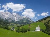 Austria, Salzburg State, Dienten, parish church, Hochkoenig - WWF04666