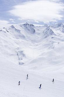 France, French Alps, Les Menuires, Trois Vallees, ski area - SKAF00122
