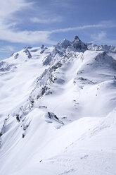 Skisport im Tiefschnee, Les Menuires, Trois Vallees, Französische Alpen, Frankreich - SKAF00131