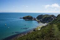United Kingdom, England, Devon, Island of Lundy, Bristol channel, harbour - RUNF00820