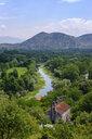 Montenegro, Zabljak, view from fortress Zabljak Crnojevica - SIEF08297