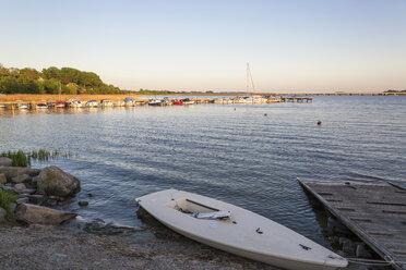 Germany, Ruegen, harbor of Altefaehr - MAMF00313