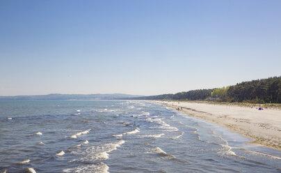 Strand in Prora, Binz, Rügen, Ostseeinsel Rügen, Ostsee, Mecklenburg-Vorpommern, Deutschland - MAMF00316